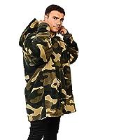 Dreamscene Camo Oversized Hoodie Blanket Ultra Soft Plush Sherpa Fleece Wearable Warm Hooded Throw Cosy Giant Sweatshirt…