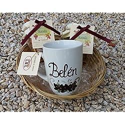 Regalo Dia de la madre 3 taza personalizada
