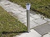 Edelstahl LED Außen-Stehleuchte Hanau Außenlampe Wegeleuchte Gartenbeleuchtung