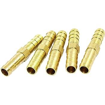 Schlauchverbindungsrohr aus Messing 6-8 10 mm Schlauchverbinder