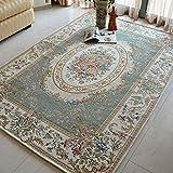 YZGH Stile europeo rurale soggiorno tappeto divano Tavolo da tè tampone camera Camera da letto Scendiletto , A , 80*120cm