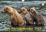 Der Bärenkalender 2018 (Wandkalender 2018 DIN A4 quer): Grizzlybären - ein Fotoshooting der besonderen Art (Monatskalender, 14 Seiten ) (CALVENDO Tiere) [Kalender] [Apr 01, 2017] Steinwald, Max - Max Steinwald