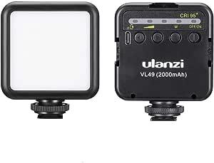 Vl49 2000mah Led Videoleuchte Led Kamerabeleuchtung Kamera