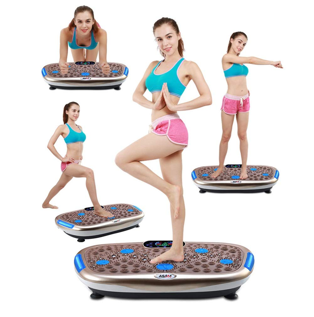 61vsKZqp1EL - Rocket Vibration Machine,Fitness Exercise Equipment To Lose Weight Tone Muscles