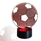 Die besten Fans Batteriebetriebene - InnoWill LED Lampe Fußball Geschenke 7Colors USB und Bewertungen