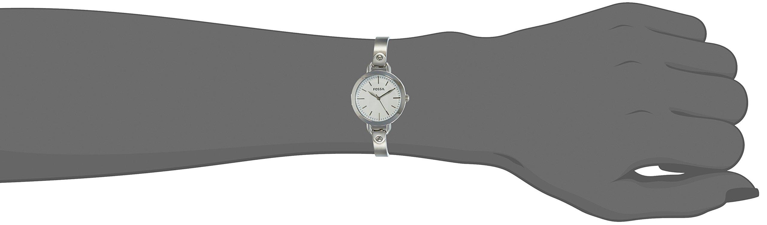 Fossil Analog Silver Dial Women's Watch – BQ3025