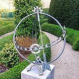 Gartentraum Sonnenuhr Bausatz für den Garten - Archimedes, Bronze