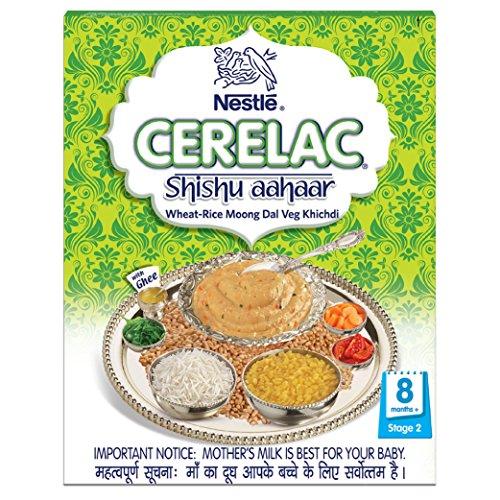 Nestle Cerelac Shishu Aahaar Baby Cereal - 300 g (Wheat-Rice Moong Dal Veg Khichdi)