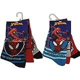 Marvel Spider-Man Medias niños, calcetines coloridos en paquete de 6 para niños (31/34) (23/26)