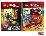 AMEET LEGO® NINJAGO™ Im Bann des Dschinns: Lesebuch + Diebe der Zeit, Kinderbuch für Leseanfänger