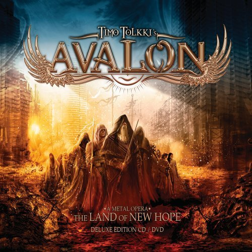 The Land Of New Hope [CD/DVD Combo][Deluxe Edition] by Timo Tolkki\'s Avalon (2013-05-21)