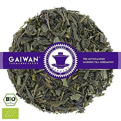 "N° 1291: Thé vert bio ""Earl Grey vert"" - feuilles de thé issu de l'agriculture biologique - GAIWAN® GERMANY - Sencha vert, Gunpowder de Chine"