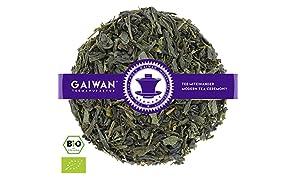 """Núm. 1291: Té verde orgánico """"Earl Grey verde"""" - hojas sueltas ecológico - 250 g - GAIWAN® GERMANY - sencha verde, polvora de China"""