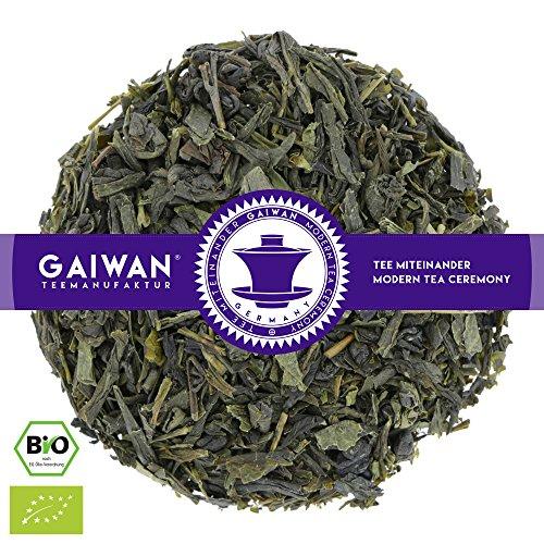 "Nr. 1291: BIO Grüner Tee ""Earl Grey"" (Sencha, Gunpowder, Aroma der Bergamotte-Frucht) - GAIWAN® TEEMANUFAKTUR"