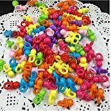 Musuntas 100pcs Mini Dekoschnuller, Musuntas Schnuller für die Babyparty oder als Anhänger ,Rosa Schnuller Tischdeko Streudeko für Baby Taufe Geburt Party Dutsche Tischdeko