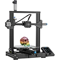 Creality Ender 3 V2 2021 FDM 3D Printer | Silent Motherboard Meanwell Power Supply | Carborundum Glass Bed | Color…