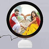 Generic Plastic Magic Mirror Photo Frame (20 cm, Multicolour)