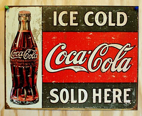 ice-cold-coca-cola-coke-venduto-qui-1916-in-latta-vintage-retro-effetto-arte-povera-motivo-