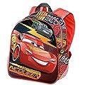 Karactermania Cars 3 Race Mochila Infantil, 30 cm, Rojo de Karactermania