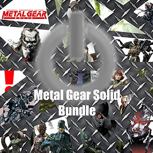 Metal Gear Solid Game Save Bundle for PS2, PS3 & PSP