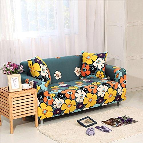iShine Sofa Überwürfe Sofabezug mit Stretch Elastische Sofabezug Slipcover Sofa Abdeckung in verschiedene Größe und Farbe-150x185cm