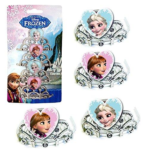 Disney Eiskönigin Frozen - Party Geburtstag Mini Diadem Krone 4 Stück