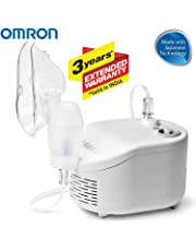 Omron NEC 101 Compressor Nebulizer For Child & Adult (White)