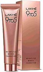 Lakme 9To5 Weightless Mousse Foundation (Beige Vanilla)