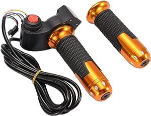 Kreema 22mm 7 8 Twist Gasgriff 3 Geschwindigkeit Schalter Spannung Led Display Griff Für Ebike Scooter Auto