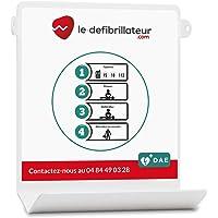 Support mural Le Défibrillateur.com