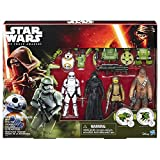 Star Wars Toy - Forest Mission - 5 Action Figure Playset Kylo Ren - Chewbacca - Stormtrooper - BB8