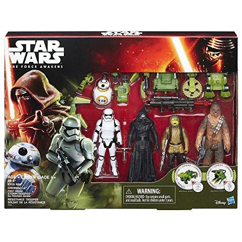Pack Missión figuras con accesorios Star Wars El Despertar de la Fuerza