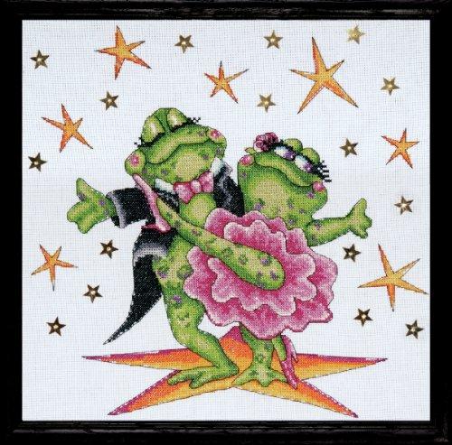 Design Works - Dancing Frogs - Die tanzenden Frösche -
