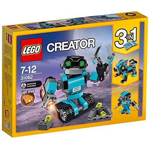 Preisvergleich Produktbild Lego 31062 Creator Forschungsroboter, Roboter-Spielzeug