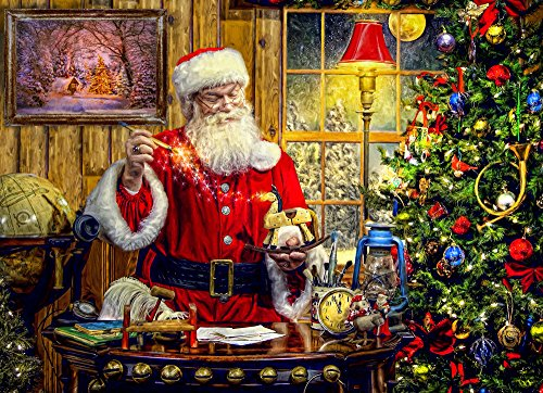 Vermont Christmas Company Un Juguete de Santa Rompecabezas de 1000 Piezas (Jigsaw Puzzle)