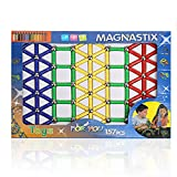 Tplay 157 Pcs Magnetic Sticks Building Set Toy (Colors May Vary)