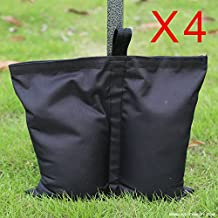 Cenador, 3 x 3 m, totalmente impermeable, desplegable, con 6 paredes y bolsa de transporte con ruedas y 4 bolsas de peso para las patas Disponible en varios colores., 4x weight bags(no gazebo)