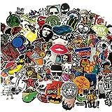 [50 Stück-zufällig] Vpsan Aufkleber Sticker Graffiti Style Reisen Skateboard Snowboard Vinylaufkleber Graffiti Laptop Gepäck Auto Fahrrad