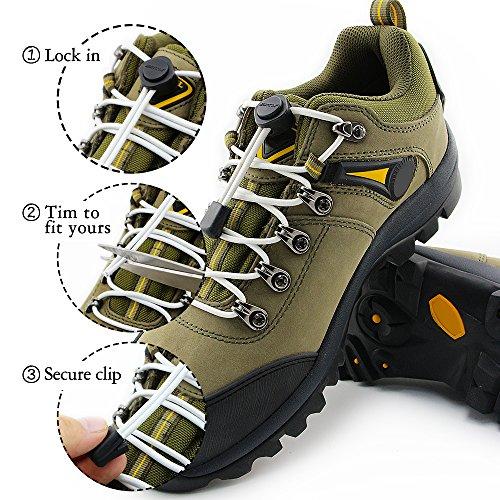 Sneaker Rennschuh Kinder Stiefel Schnürsenkel Runde Für Weiß Erwachsene Schuhband Nestel Homar Paare Sport Und Reflektierend 2 7qwAORW
