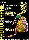 Photographie 6 2015 Tablets im Test Pentax K-1 Faszination Naturvölker Zeitschrift Magazin Einzelheft Heft Fotografie