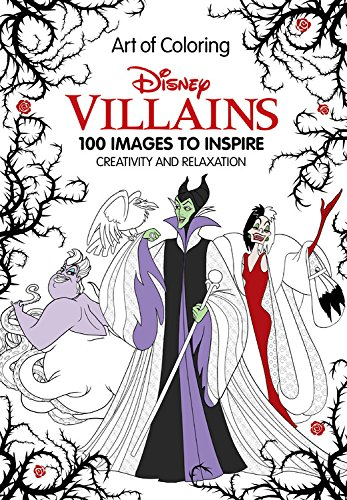 Art of Coloring: Disney Villains Cover Image