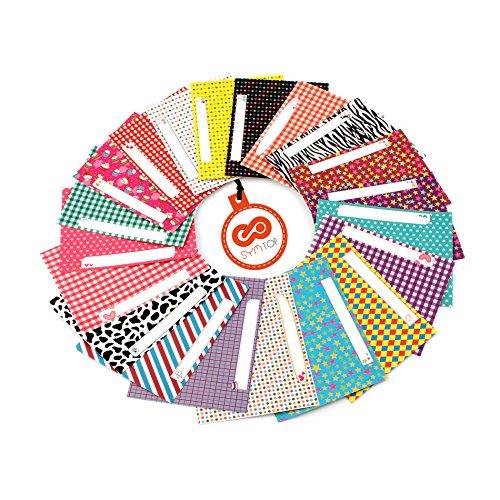 20pcs colorido foto pegatinas de películas para Fujifilm Instax 210instant Film, mensaje Memo Patrón