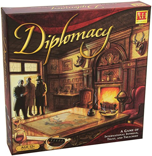 Milton Bradley Avalon Hill / Wizards of The Coast 221930000 – Diplomacy, Englische Ausgabe, Brettspiel