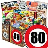 Geschenkset | 24x Allerlei | Geburtstag 80 | Ostalgie Geschenkset Oma