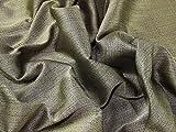 Italienisches Gewebe der Textur Brokat Kleid Schwarz &