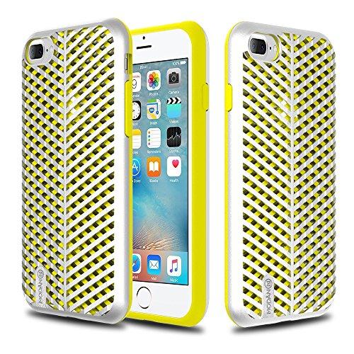 coque-iphone-7-plus-modan-mercury-premium-fini-mat-silver-coque-solide-interieur-silicone-coque-pour