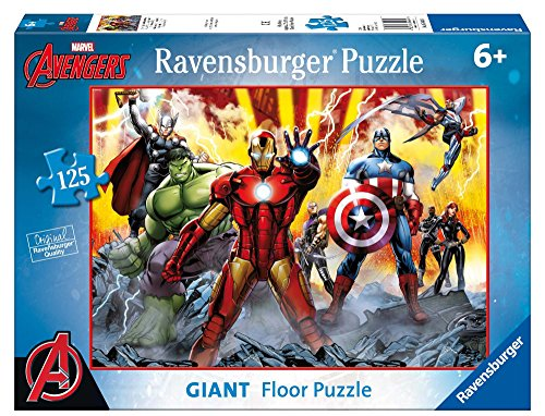 Avengers: Age of Ultron - Puzzle Gigante de 125 Piezas (Ravensburger 09783)