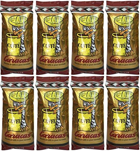 Caffè Corsini Caracas (8 X 1000g) -Kaffee Bohnen - Italienischer Espressokaffee