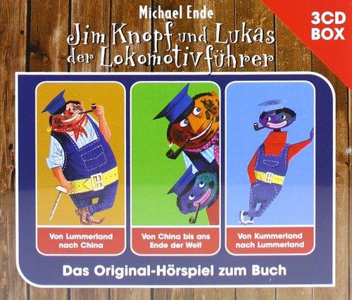 Jim Knopf - 3-CD Hörspielbox -