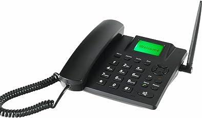 6188D Dual SIM GSM Fixed Wireless Phone FWP (Black)